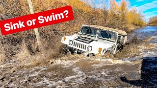 Download 4X4 HUMMER H1- BEST TIME OFFROAD WATER & MUD! *ALEX CHOI & STEVESPOV* Video
