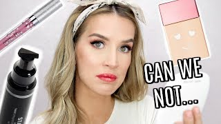 Download I'LL PASS... TESTING NEW MAKEUP I HAVE NO FAITH IN | LEIGHANNSAYS Video