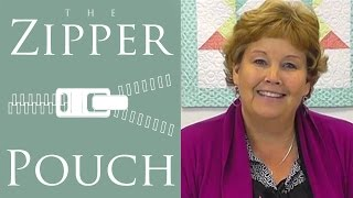Download The Zipper Pouch: An Easy Quilting Project Tutorial by Jenny Doan of Missouri Star Quilt Co Video