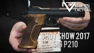 Download Shot Show 2017 - Sig Sauer P210 Video