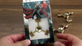 Download ОБЗОР: Металлический Спиннер Fidget Spinner серия ″Thor″ Video