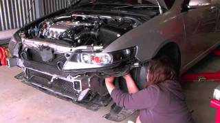 Download Mugen Intake Installation on Honda Accord Euro CL9 Video