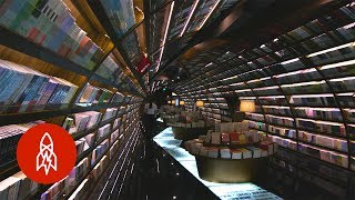 Download Bookworm Paradise: Kick Back in China's Infinite Reading Space Video