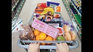 Download США. Супермаркет, цены на основные продукты (молоко, мясо, овощи...) Video