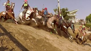 Download Omak Suicide Race and Native American Encampment Video