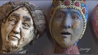Download Seattle ceramic artist George Rodriquez, makes bigger than life figures Video