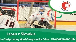 Download Japan v Slovakia | Prelim | 2016 Ice Sledge Hockey World Championships B-Pool, Tomakomai Video