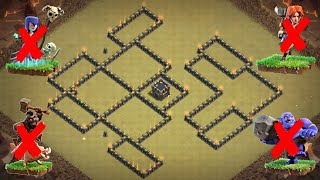 Download New Best TH9 War Base 2018 | Defence against TH10 GoWiBo, GoVaPe; TH9 GoHo, GoValk, HGHB, HPHB Video