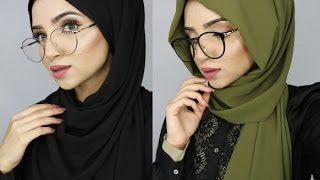 Download HIJAB TUTORIAL FOR GLASSES Video