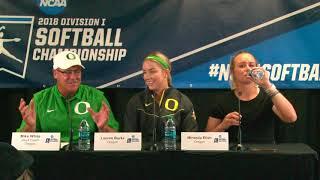 Download Albany vs. Oregon Game 1 Regional Post Game Media Video
