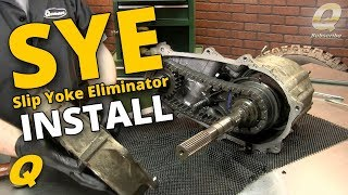 Download How to Install a Slip Yoke Eliminator and Driveshaft for a Jeep Wrangler TJ Video