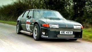 Download Driving A Rover SD1 With A Plane Engine #TBT - Fifth Gear Video