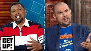 Download Could Kyrie Irving and Jimmy Butler team up to play for New York Knicks in 2019? | Get Up! | ESPN Video