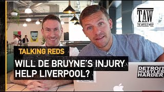 Download Does Kevin De Bruyne's Injury Boost Liverpool's Title Chances? | TALKING REDS Video