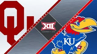 Download OU Highlights vs Kansas (11/17/2018) Video