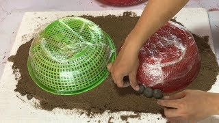 Download DIY - ❤️ cement craft ideas ❤️ - Combine small fish ponds and bonsai pots Video