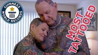 Download Most tattooed senior citizens - GWR Beyond The Record Video