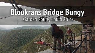 Download Bloukrans Bridge Bungy Jump - Garden Route, South Africa Video