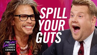 Download Spill Your Guts or Fill Your Guts w/ Steven Tyler Video