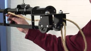 Download How to assemble a T60 curtain track with overlap and handline Video