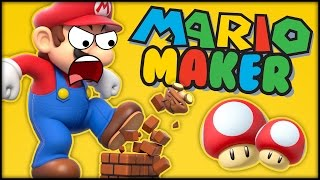 Download SUPER MARIO MAKER - NORMAL!??? MORE LIKE UNPLAYABLE!!! Video