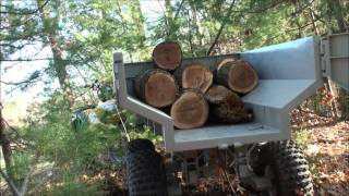 Download Custom ATV Trailer with Hydraulic Dump Video