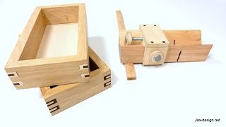 Download Easy to Make Jig and How to Build Boxes with Decorative Splines Video