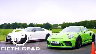 Download Fifth Gear: Porsche 911 GT3 RS Vs Nissan GTR Nismo Video