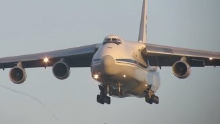 Download BEAUTIFUL Arrival AN124 RA82013, Russian Air Force at Geilenkirchen Video