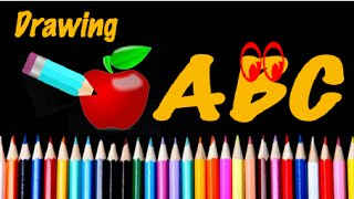 Download Learn ABC and drawing cartoons (A to Z) Video