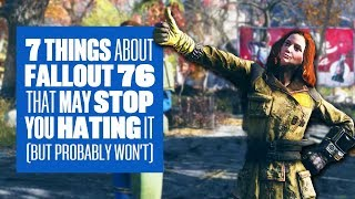 Download 7 Little Details About Fallout 76 Gameplay That May Stop You Hating On It (but probably won't) Video