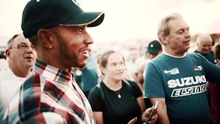 Download Lewis Hamilton Meets the Silverstone Volunteers Video