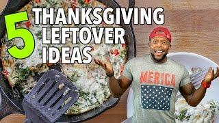 Download 5 Healthy Thanksgiving Leftover Recipe Ideas / 5 Ideas para Sobras del Día de Acción de Gracias Video