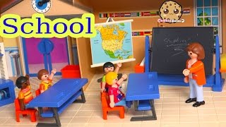 Download Playmobil Back To School Classroom Playset with Teacher & Shopkins Season 3 Blind Bag Unboxing Video