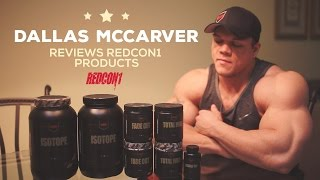 Download Dallas McCarver Reviews Redcon1 Products He's Using During His 2016 Mr. Olympia Prep Video