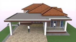 Download Rekabentuk Pelan Banglo Setingkat 4 Bilik Tidur di Perak Darul Ridzuan Video