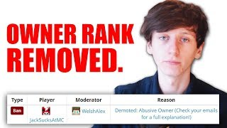Download I was demoted from my own Minecraft server :( Video