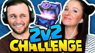 Download Clash Royale | OWNING FACE IN THE 2v2 CHALLENGE! (silly decks) Video