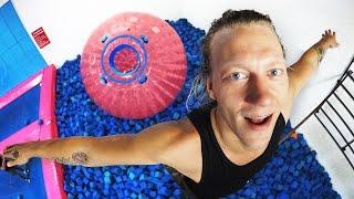 Download Impossible Backflip into Zorb Ball! (BROKEN TOE) Video