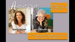 Download ArtChat with Nancy Reyner and Tesia Blackburn Video