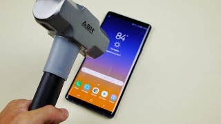 Download Samsung Galaxy Note 9 Hammer & Knife Test - Will it Explode? Video