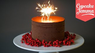 Download Recipe for the Richest Chocolate Truffle Cake ever! | Cupcake Jemma Video
