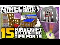 Download 15 Minecraft 1.9 Decorating Secrets You NEED TO USE! (Minecraft Custom Builds) Video