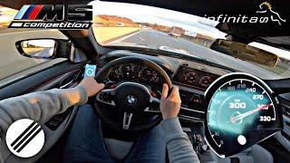 Download BMW M5 F90 INFINITAS STAGE 1+ 770HP 950NM TEST DRIVE ON GERMAN AUTOBAHN🏎 Video
