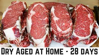 Download How To Dry Age Beef at Home - 28 Days Video