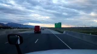 Download BigRigTravels LIVE! Brigham City, Utah to I-15 & UT Hwy 20 Interstate 15 South-June 19, 2018 Video