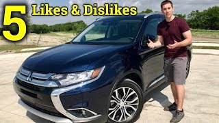 Download Living With The New Outlander | 2018 Mitsubishi Outlander 5 Likes and Dislikes Video