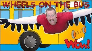 Download Wheels On The Bus Go with Steve and Maggie | Learn Speaking with Wow English TV Video