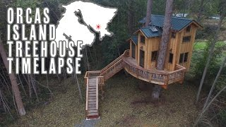 Download Treehouse Timelapse On Orcas Island Video