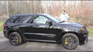 Download The $100,000 Jeep Trackhawk Is the Most Powerful SUV Ever Video